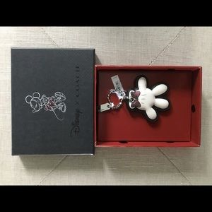 Coach Minnie Mouse Bag Charm NWT